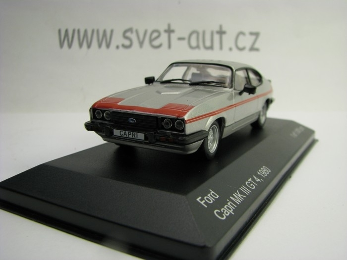 Ford Capri MK III GT 4 1980 1:43 White Box